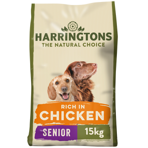 Harringtons Complete Senior Dry Dog Food Chicken & Rice 15kg