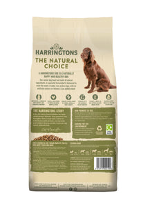 Harringtons Complete Senior Dry Dog Food Chicken & Rice Ingredients