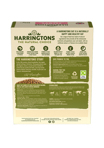 Harringtons Adult Cat Food Rich in Salmon 800g Ingredients