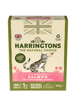 Load image into Gallery viewer, Harringtons Adult Cat Food Rich in Salmon 800g