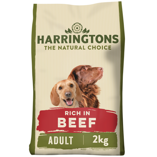 Rich in Beef & Rice Dry Dog Food 2kg