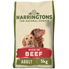 Load image into Gallery viewer, Harringtons Beef & Rice Dry Dog Food 5kg