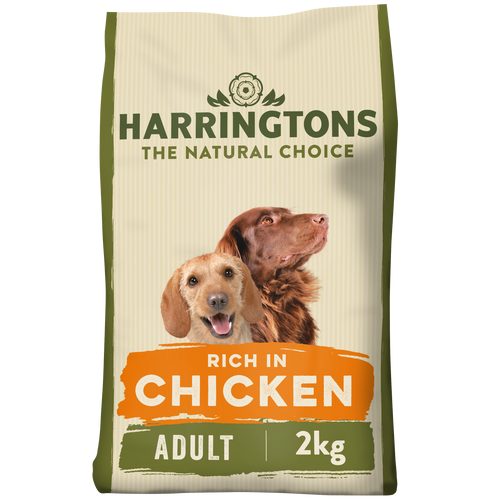 Rich in Chicken & Rice Dry Dog Food 2kg