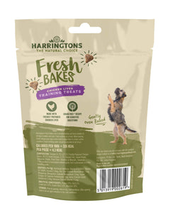 Harringtons Fresh Bakes Chicken Liver Training Treats Rear