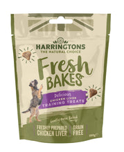 Load image into Gallery viewer, Harringtons Fresh Bakes Chicken Liver Training Treats Front