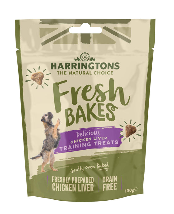 Harringtons Fresh Bakes Chicken Liver Training Treats Front