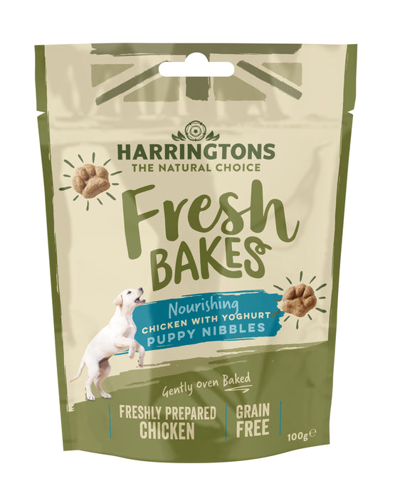 Harringtons Fresh Bakes Puppy Nibbles Front