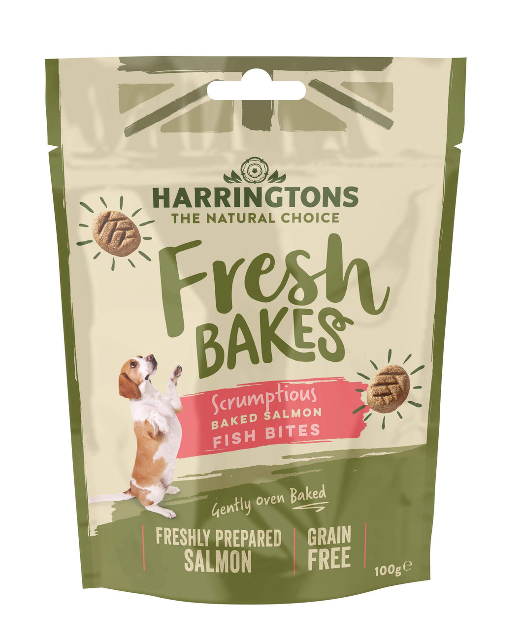 Harringtons Fresh Bakes Fish Bites Front