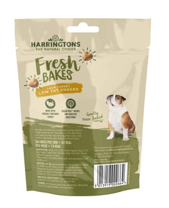 Harringtons Fresh Bakes Lean Turkey Low Fat Snacks Rear