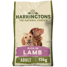 Load image into Gallery viewer, Harringtons Rich in Lamb & Rice Dry Dog Food 15kg