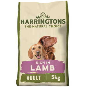 Harringtons Lamb & Rice Dry Dog Food 5kg