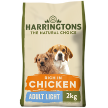 Load image into Gallery viewer, Light Chicken and Rice Dinner Dry Dog Food 2kg