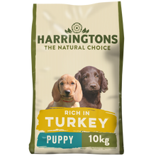 Load image into Gallery viewer, Harringtons Puppy Complete Turkey and Rice Dry Dog Food 10kg