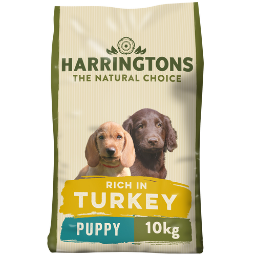 Harringtons Puppy Complete Turkey and Rice Dry Dog Food 10kg