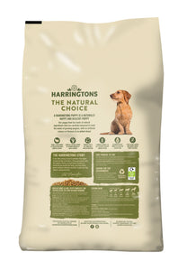 Harringtons Puppy Complete Turkey and Rice Dry Dog Food Ingredients