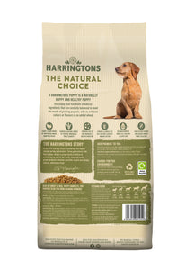Harringtons Turkey & Rice Dry Puppy Food Ingredients