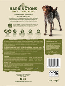Harringtons Mixed Wet Dog Food Bumper Pack 24 x 150g Ingredients