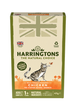 Load image into Gallery viewer, Harringtons Adult Cat Food with Fresh Chicken 425g Multipack