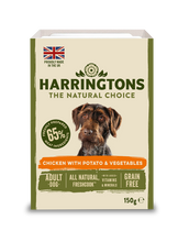 Load image into Gallery viewer, Harringtons Mixed Wet Dog Food Chicken 150g