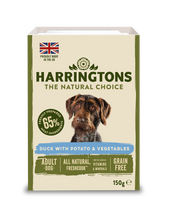 Load image into Gallery viewer, Harringtons Mixed Wet Dog Food Duck 150g