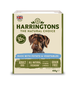 Harringtons Mixed Wet Dog Food Duck