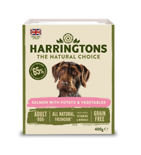 Load image into Gallery viewer, Harringtons Mixed Wet Dog Food Salmon