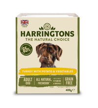 Load image into Gallery viewer, Harringtons Mixed Wet Dog Food Turkey