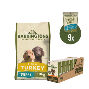 Harringtons Puppy Dry, Wet & Treats Bundle