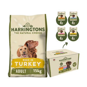 Harringtons Dry & Wet Dog Food Bundle