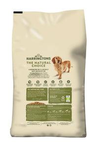 Harringtons Salmon & Potato Dry Dog Food Ingredients