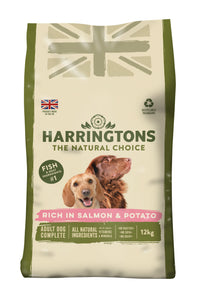 Salmon & Potato Dry Dog Food 12kg