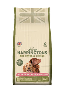 Rich in Salmon & Potato Dry Dog Food 4 x 2kg