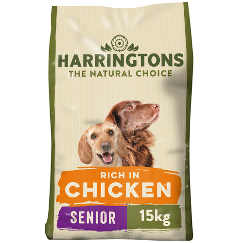 Senior Dog Food Complete - Rich in Chicken & Rice