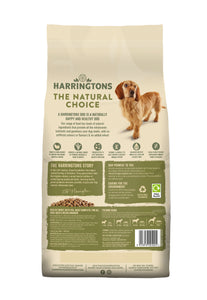 Harringtons Turkey & Vegetable Dry Dog Food Ingredients