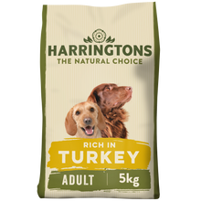 Load image into Gallery viewer, Harringtons Turkey & Vegetable Dry Dog Food 5KG