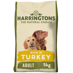 Harringtons Turkey & Vegetable Dry Dog Food 5KG