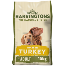 Load image into Gallery viewer, Rich in Turkey & Vegetable Dry Dog Food 15kg