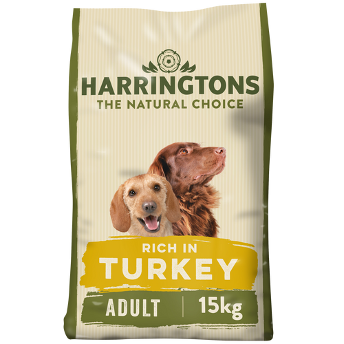 Rich in Turkey & Vegetable Dry Dog Food 15kg