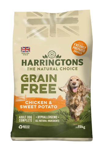 Grain Free Chicken & Sweet Potato Dry Dog Food