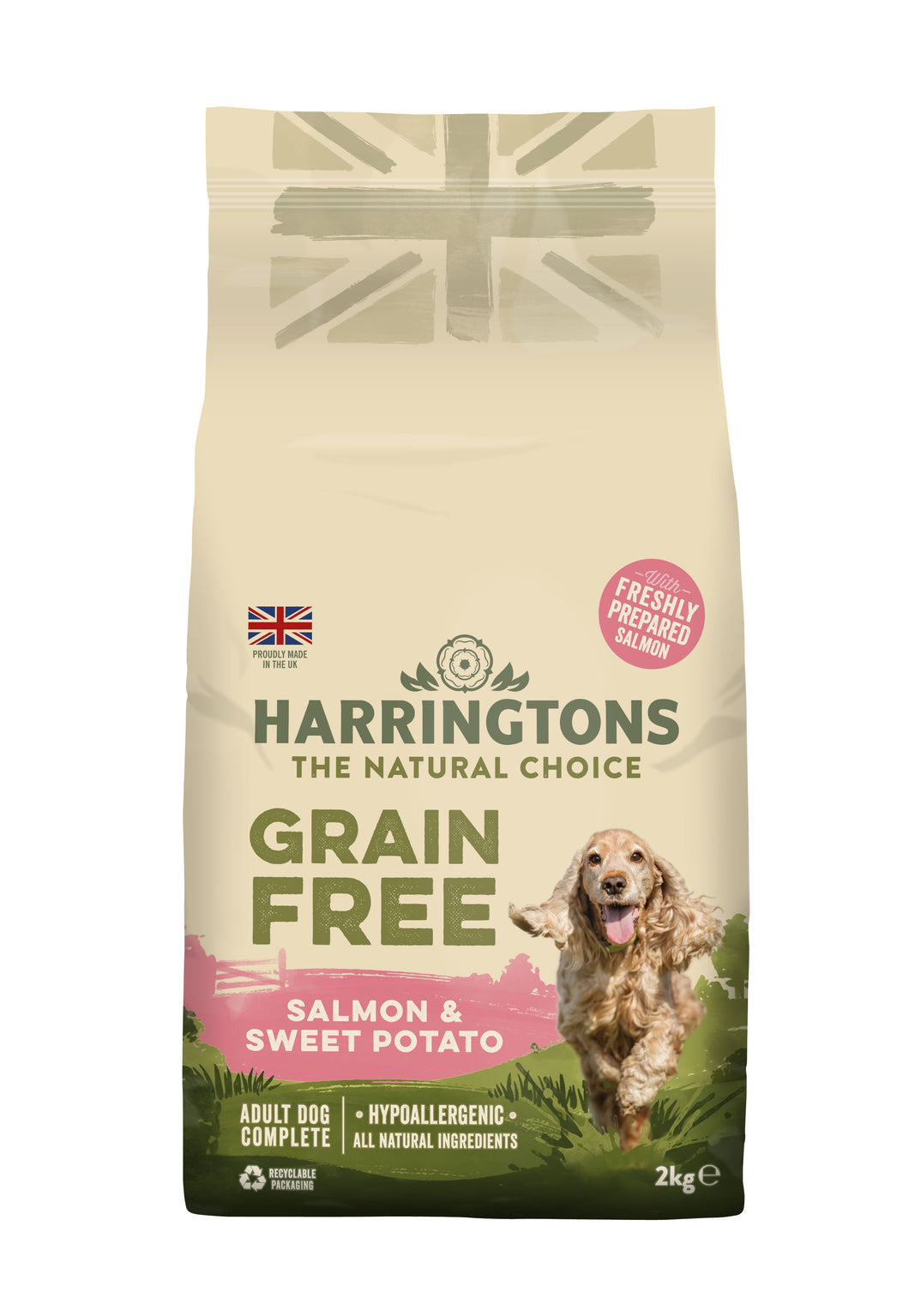 Grain Free Salmon & Sweet Potato Dry Dog Food