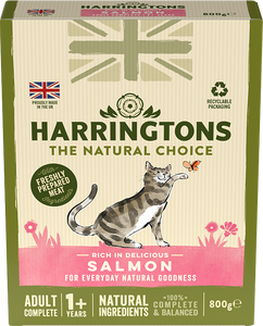 Adult Cat Food Rich in Salmon