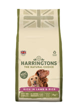 Load image into Gallery viewer, Harringtons Rich in Lamb & Rice Dry Dog Food