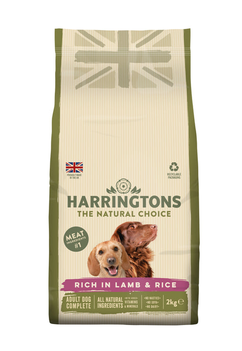 Rich in Lamb & Rice Dry Dog Food
