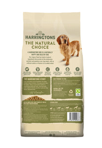 Harringtons Lamb & Rice Dry Dog Food Ingredients