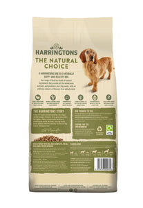 Harringtons Turkey and Veg Dry Dog Food Ingredients