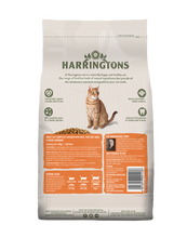 Load image into Gallery viewer, Harringtons Adult Dry Cat Food Complete Chicken with Rice