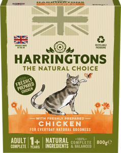 Harringtons Adult Cat Food with Fresh Chicken 800g