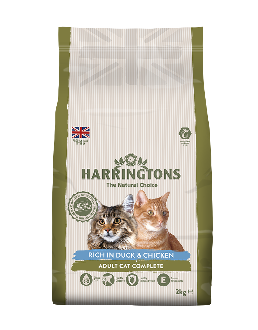 Harringtons Rich in Duck & Chicken Dry Cat Food