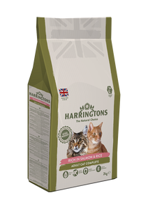 Harringtons Rich in Salmon & Rice Dry Cat Food