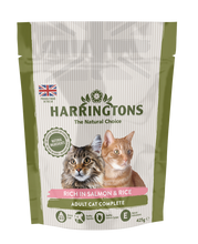 Load image into Gallery viewer, Harringtons Rich in Salmon & Rice Dry Cat Food